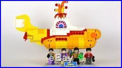 Lego Beatles Yellow Submarine # 21306 RARE Sealed (Ideas # 15) Original Box