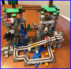 Lego Minecraft The Mine 21118 100% complete Original Box And Booklets Rare