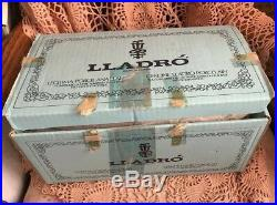 Lladro 5614 Startled Original Blue Box! Mint condition! Lovely Gift! Rare