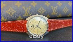 Longines Ref 8264 Crosshair Dial Rare 2 Cal 285 Oversize Waterproof Box Original