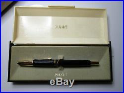 MINT RARE PILOT GD 19 capless fountain pen 14ct F nib with original box & papers