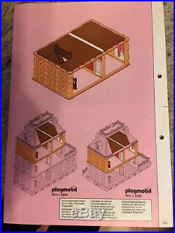 MINT RARE Playmobil 7411 VICTORIAN MANSION EXPANSION FLR Doll House-ORIGINAL BOX