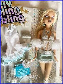 MY SCENE MY BLING BLING KENNEDY DOLL WITH RING FOR YOU new in box RARE barbie