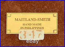Maitland Smith Large Rare Vintage Box Tortoise Shell