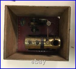 Mamod Pre War SE3 Stationary Steam Engine Complete With Rare Original Box