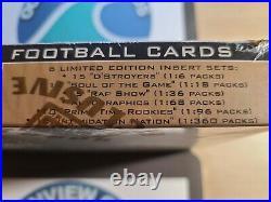 Manning Moss RC year 1998 Skybox Metal Universe & Premium Hobby Box LOT (2) Rare