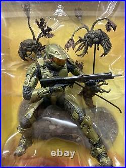 McFarlane Halo 3 Legendary Collection Master Chief 117 Vs. Flood Figure RARE