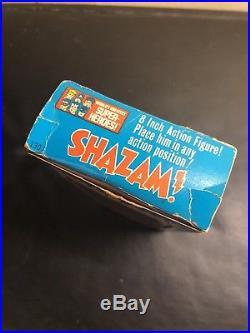 Mego 1972 Shazam action figure vintage with original Box mint rare type 1