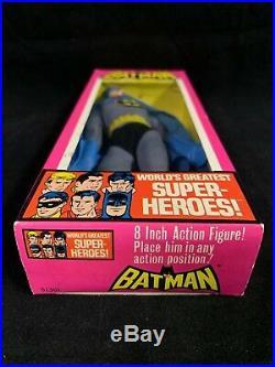 Mego 1976 Batman Action Figure In Original Box UNPUNCHED! SUPER RARE! #51301