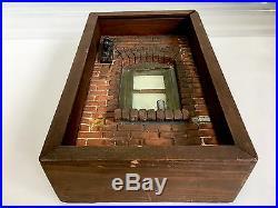 Michael Garman ARTIST Cityscape Window Sculpture Shadow Box 1975 RARE