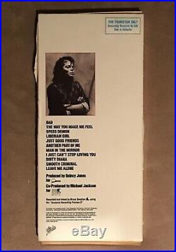 Michael Jackson Original Promo Bad Long Box CD Rare