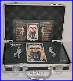 Michael Jackson Ultimate Collection 33 DVDs+1CD Case Rare Collector's Box Set