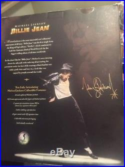 Michael Jackson Very Rare Billie Jean Collectible Figure NEW IN BOX Playmates