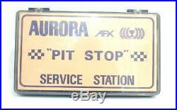 Model Motoring Aurora Slot Car Ho Scale (afx Pit Stop Service Box #1750)rare