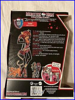 Monster High 2011 Toralei Stripe Original First Wave RARE New In Box