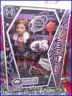 Monster High Doll, Clawdeen Wolf, First Wave, Original, 1st Style Box, Very Rare
