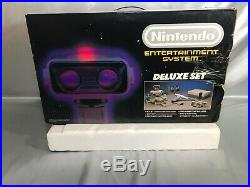 NES/Nintendo Deluxe Set Box and Styrofoam Top only, Original Rob system RARE