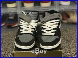 NIKE DUNK MID PRO SB RARE 314383 201 MEN'S Size 9 ORIGINAL BOX