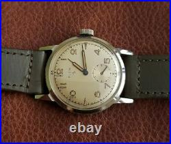 NOS Rare Elgin Mechanical Watch with Box, Original Strap New Old Stock