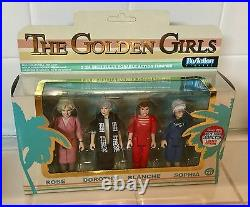 NYCC 2016 FUNKO ReAction The Golden Girls 4 Pack Rose Dorothy Blanche Pop RARE