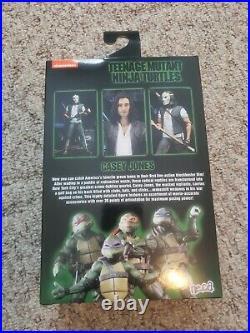 Neca TMNT Ultimate Casey Jones UNMASKED Teenage Mutant Ninja Turtles Sealed Rare