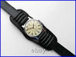 New Custom Made Pobeda Zim Sturmanskie Gagarin Rare Military Pilot Vintage Watch