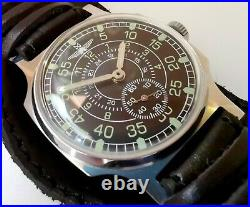 New Custom Pobeda Zim Sturmanskie Rare Military Pilot Vintage Watch