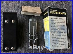 New Rare Leatherman Pulse multitool + Leather sheath in Original Box