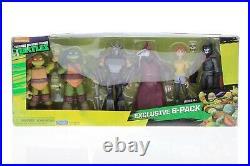 Nickelodeon Teenage Mutant Ninja Turtles Exclusive 6 Pack Figure Box RARE