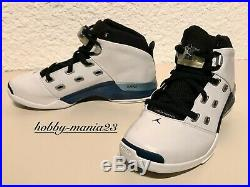 Nike Air Jordan 17 XVII White/Blue Original DS Rare New with Box Size 7.5