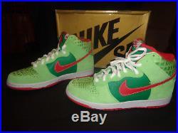 Nike SB Dunk Dr Feelgood Rare SZ 11 Deadstock original box
