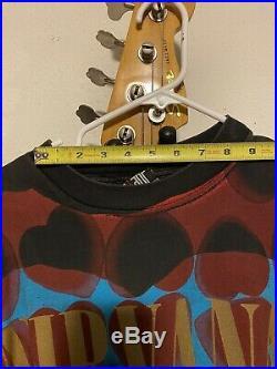 Nirvana Heart Shaped Box RARE- Vintage T-Shirt X-Large. Nirvana tour shirt 1993