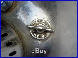 Nos Swedish Original Optimus300 Cp Kerosene Lantern & Original Box Rare Lamp