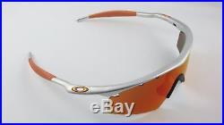 Oakley M Frame Fmj 5.56 Fire Iridium Strike Vented+Original Box Orange NEW RARE