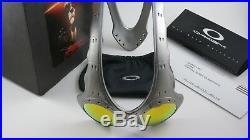 Oakley Over The Top OTT FMJ+ Fire Iridium+Original Box 04-060 NEW RARE X Metal