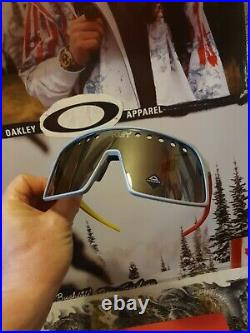 Oakley Sutro Eyeshade Factory Pilot Mvp Limited Rare Collector Box Display No