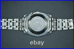 October 1968 Very Rare Vintage Seiko DX Blue Original Bracelet Automatic Watch
