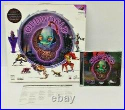 Oddworld Abe's Oddysee (PC, 1997) Original Big Box Game Mint Disc Rare Complete