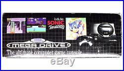 Official Sonic Sega Mega Drive Boxed Console Original Rare Suit Game Collector