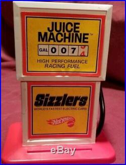 Old Rare 1969 Toy Hot Wheels Sizzlers Set Track Car Vintage Lot Original Box