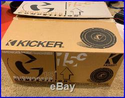 Old School Rare Vintage Kicker C15c Subwoofer, Original Box & Paperwork! US Made