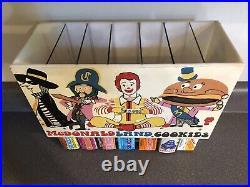 Old Vintage Rare 1970s McDonaldland Cookies Box Display McDonalds Cookie Boxes