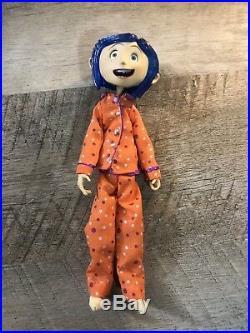 Original Coraline Doll Rarest of Rare! 7 NECA Bendy Doll in Pajamas With Box