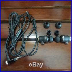 Original JVC HA-FX1200 In-Ear Wood Series High-End Earphones New no box RARE