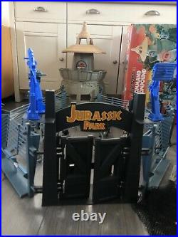 Original Kenner Jurassic Park Command Playset Bundle With Extras Very Rare Boxed