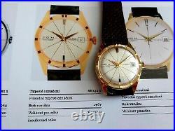 Original PRIM DIPLOMAT 17J with Box Rare Men's Mechanical Watch Czechoslovakia