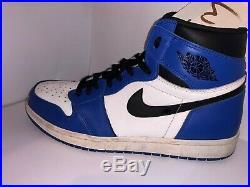 Original Rare Nike Air Jordan 1 Game Royal Blue White Size UK 10.5 With Box Bred