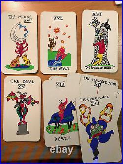 Original Serigraph Tarot Cards Set/Box by Niki de Saint Phalle 2002 RARE