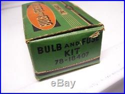 Original rare nos 30s Ford vintage Emergency kit box fuse head lamps tool kit