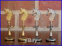 Outstanding Rare Vintage Chess Set Firenze, Italy 4 3/8 King. Original box